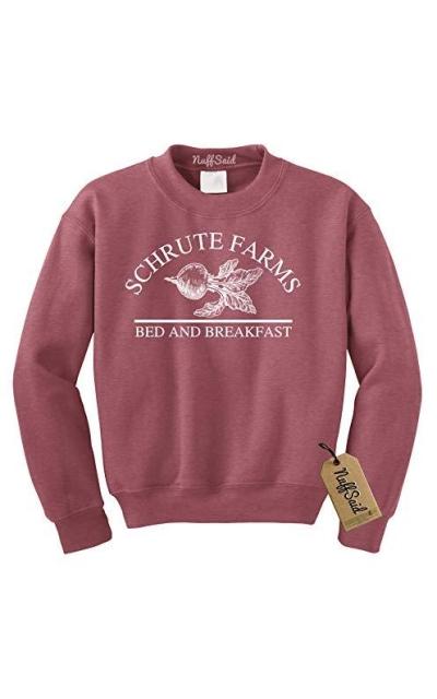 Nuff Said Schrute Farms Beets Bed Breakfast Sweatshirt