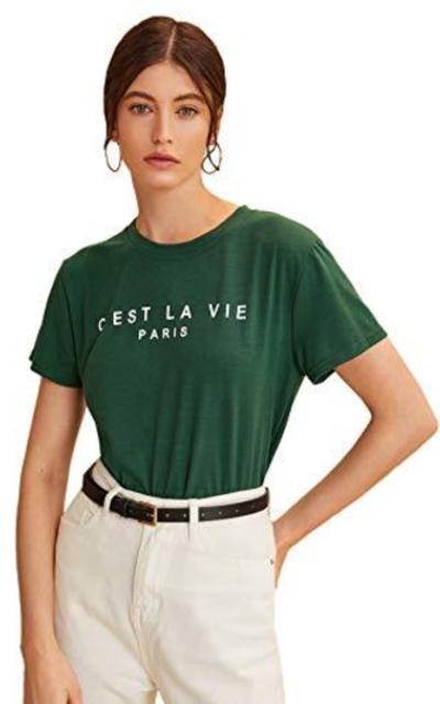 MAKEMECHIC Graphic Print Short Sleeve Tee Shirt