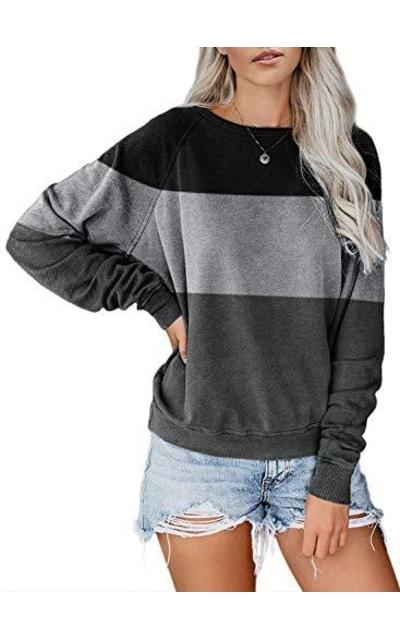 AlvaQ  Colorblock Pullover