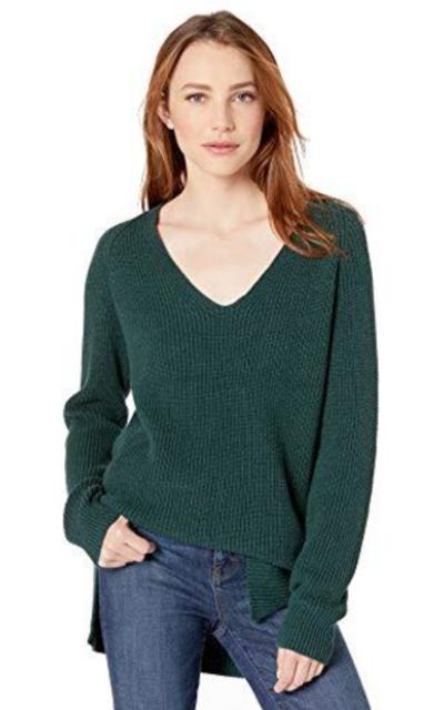 Amazon Brand - Goodthreads Deep V-Neck Sweater
