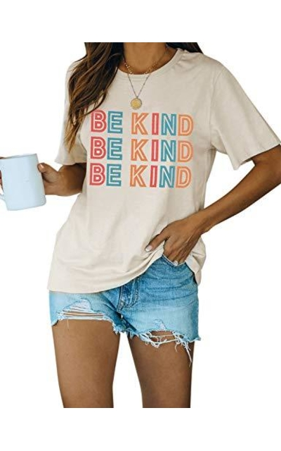 Blooming Be Kind Graphic T Shirt