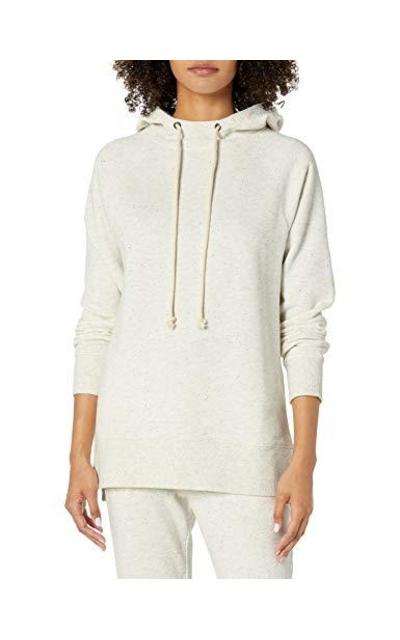 Amazon Brand - Goodthreads Heritage Fleece Hooded Tunic Sweatshirt