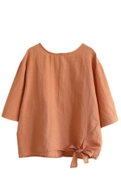 Minibee Cotton Linen Tops