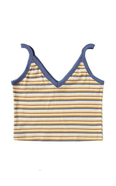 SheIn Stripe Ribbed Knit Cami Tank