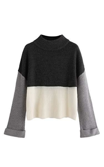 Floerns  Pullovers Sweater