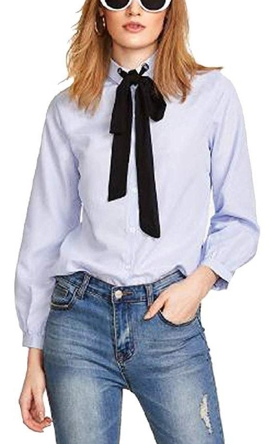 Bow Tie Neck Top