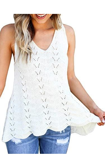Yacooh Knitted Tank Top