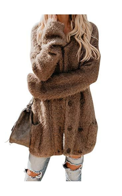 Sidefeel Fuzzy Cardigan