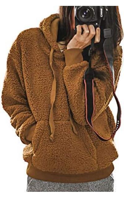 Alelly Fuzzy Fleece Sweatshirt