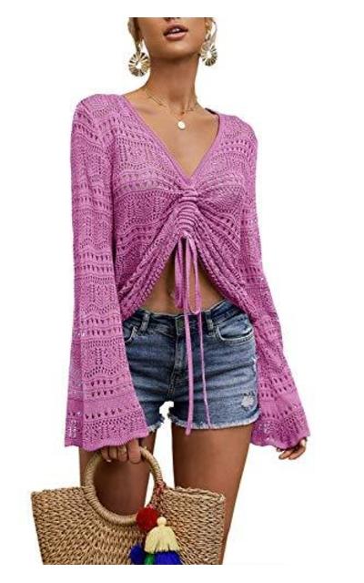 Modershe Crop Top Knit
