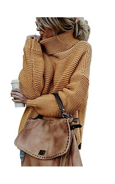 ZHENWEI Turtleneck Sweaters