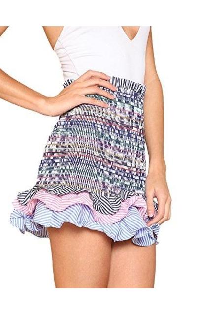 Floerns Convertible Smock Skirt /Top