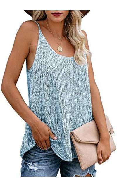 Uusollecy Knit Tank Top