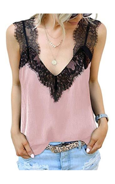 Chase Secret Lace Cami Tank Top