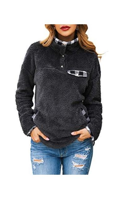 KIRUNDO Fleece Sweatshirt