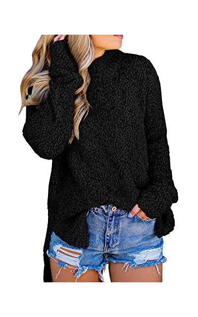 Imily Bela Nubby Faux Fleece Sweater