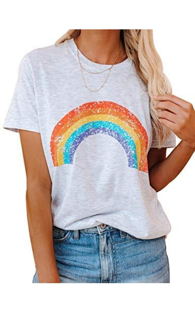 Ugerlov Rainbow Graphic T Shirt