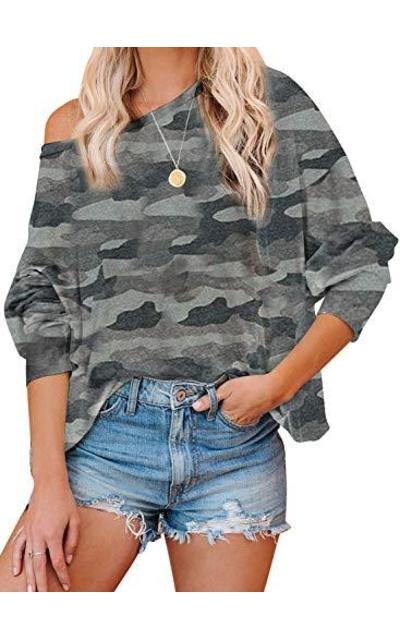BLENCOT Camouflage Sweatshirt
