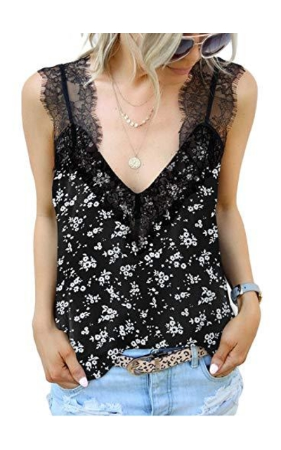 BLENCOT Lace Cami Tank Top