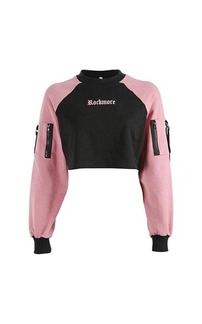 malianna Rockmore Cropped Sweatshirt
