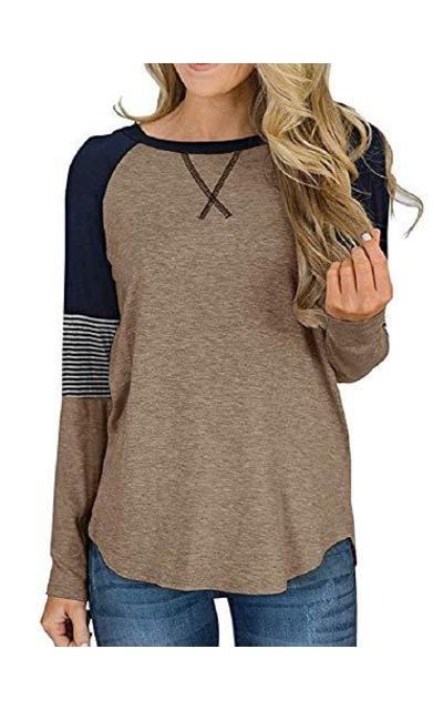 Hiistandd Striped Color Block Tshirt