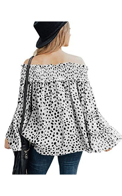 MOSHENGQI Off Shoulder Top