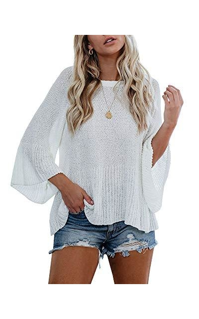 Tutorutor Lightweight Loose Knitted Top