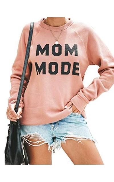 Blooming Jelly Mom Mode Crewneck Sweatshirt