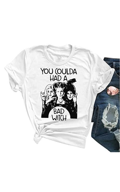 Hocus Pocus Shirts You Coulda Had a Bad Witch Shirt