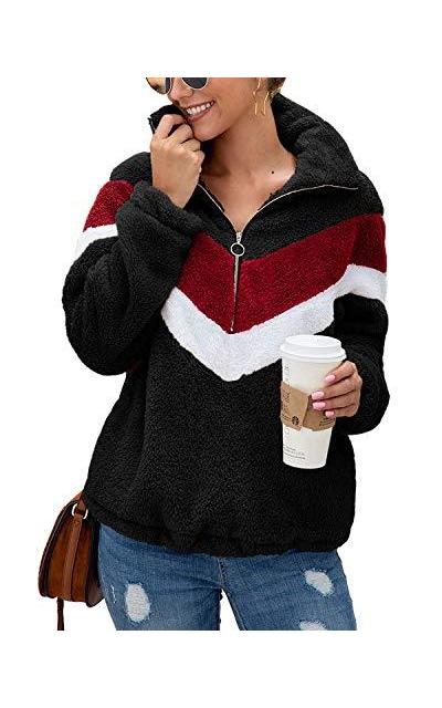 Yanekop Color Block Sweatshirt