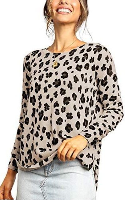 Angashion Leopard Sweater