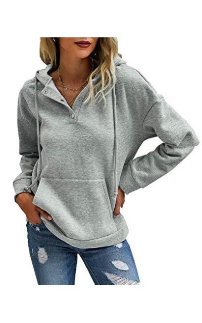 PRETTYGARDEN Sweatshirt Pullover with Pockets