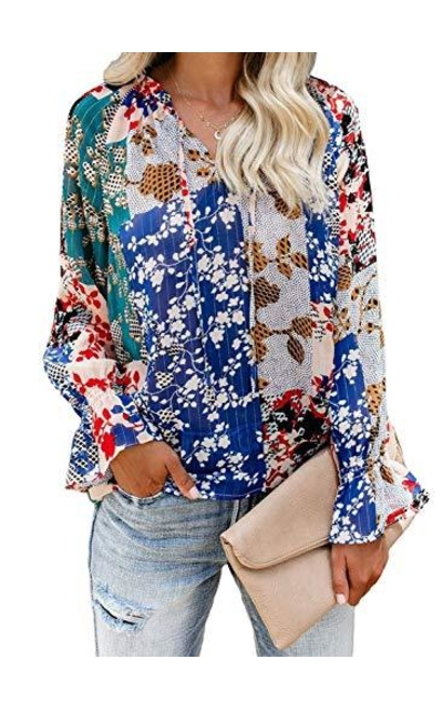 FARYSAYS Floral Printed Shirt