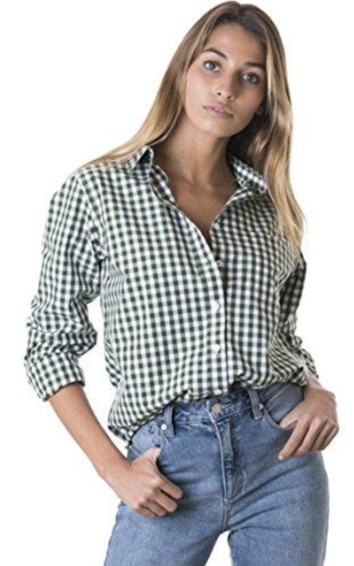 CAMIXA Gingham Shirt