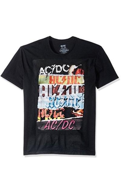 AC/DC Multi Logo Short Sleeve T-Shirt