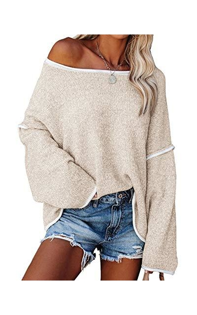 Yanekop Off Shoulder Sweater