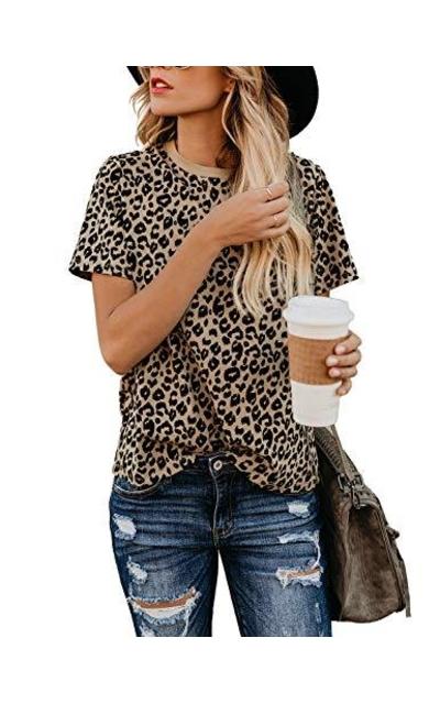BMJL Leopard Print Tee