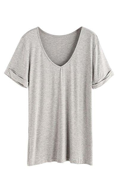 SheIn Short Sleeve Casual Tee