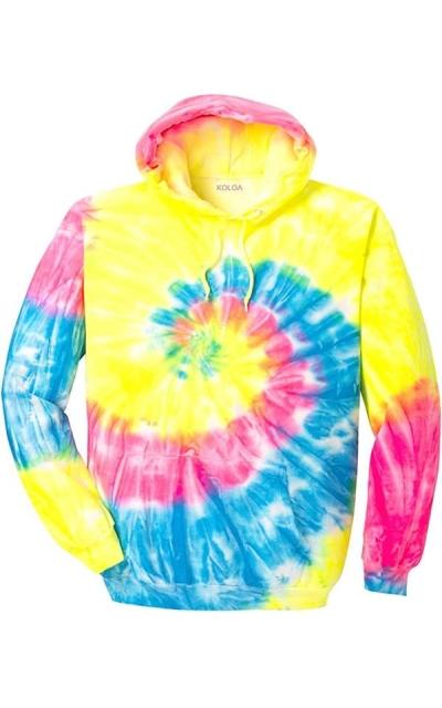 Koloa Surf Co. Colorful Tie-Dye Hoodie