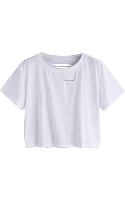 SweatyRocks Crop T-shirt