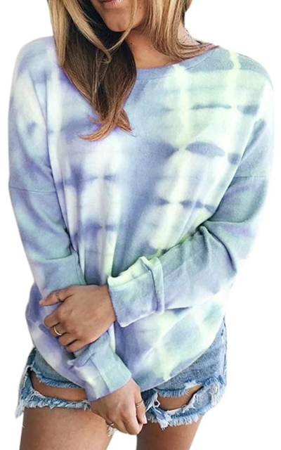 Pjjgerly Tie Dye Oversized Sweatshirt