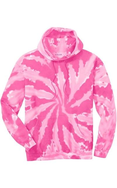 Joe's USA Tie-Dye Hooded Sweatshirt