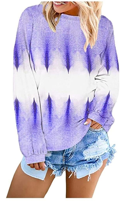 Tie Dye Pullover Sweatshirt