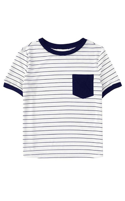 SweatyRocks Striped T-Shirt