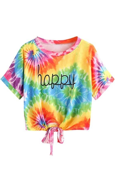 SweatyRocks Crop T-Shirt