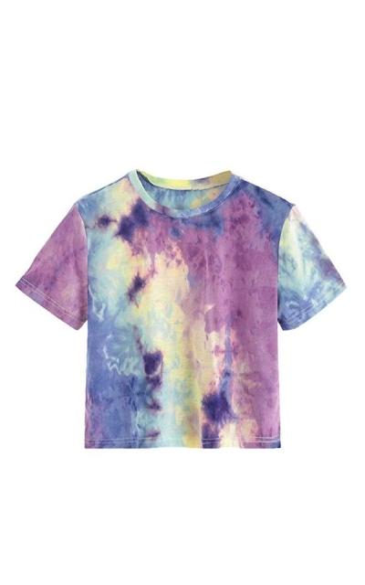 SweatyRocks Tie Dye T Shirt