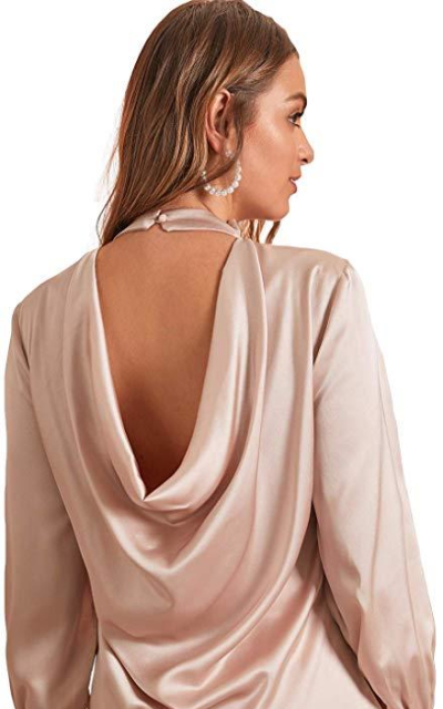Milumia Backless Blouse