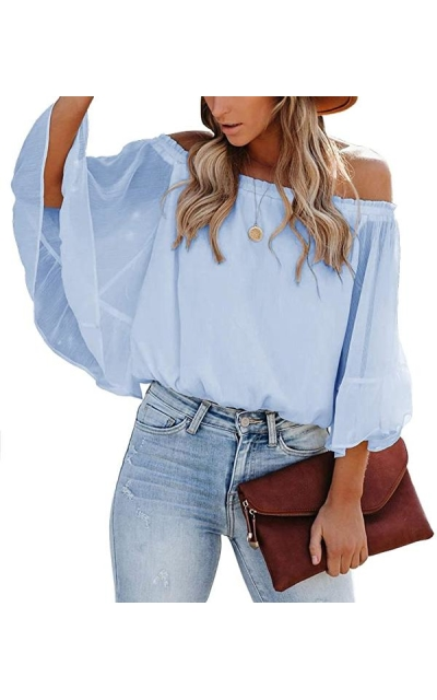 SENSERISE Off The Shoulder Top