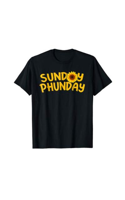 Sunday Phunday Sunflower T-Shirt