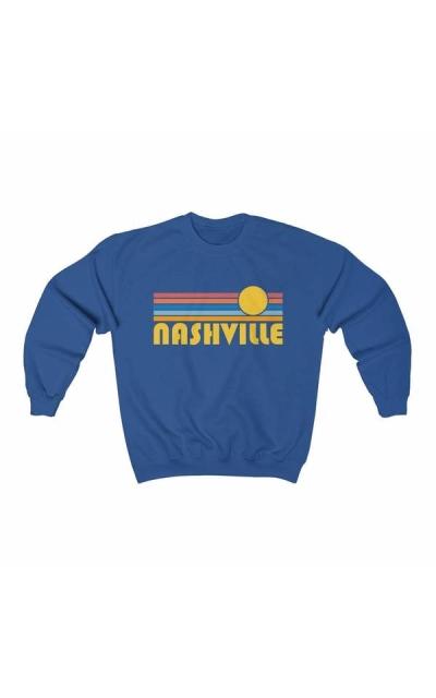Nashville, Tennessee Crewneck Sweatshirt